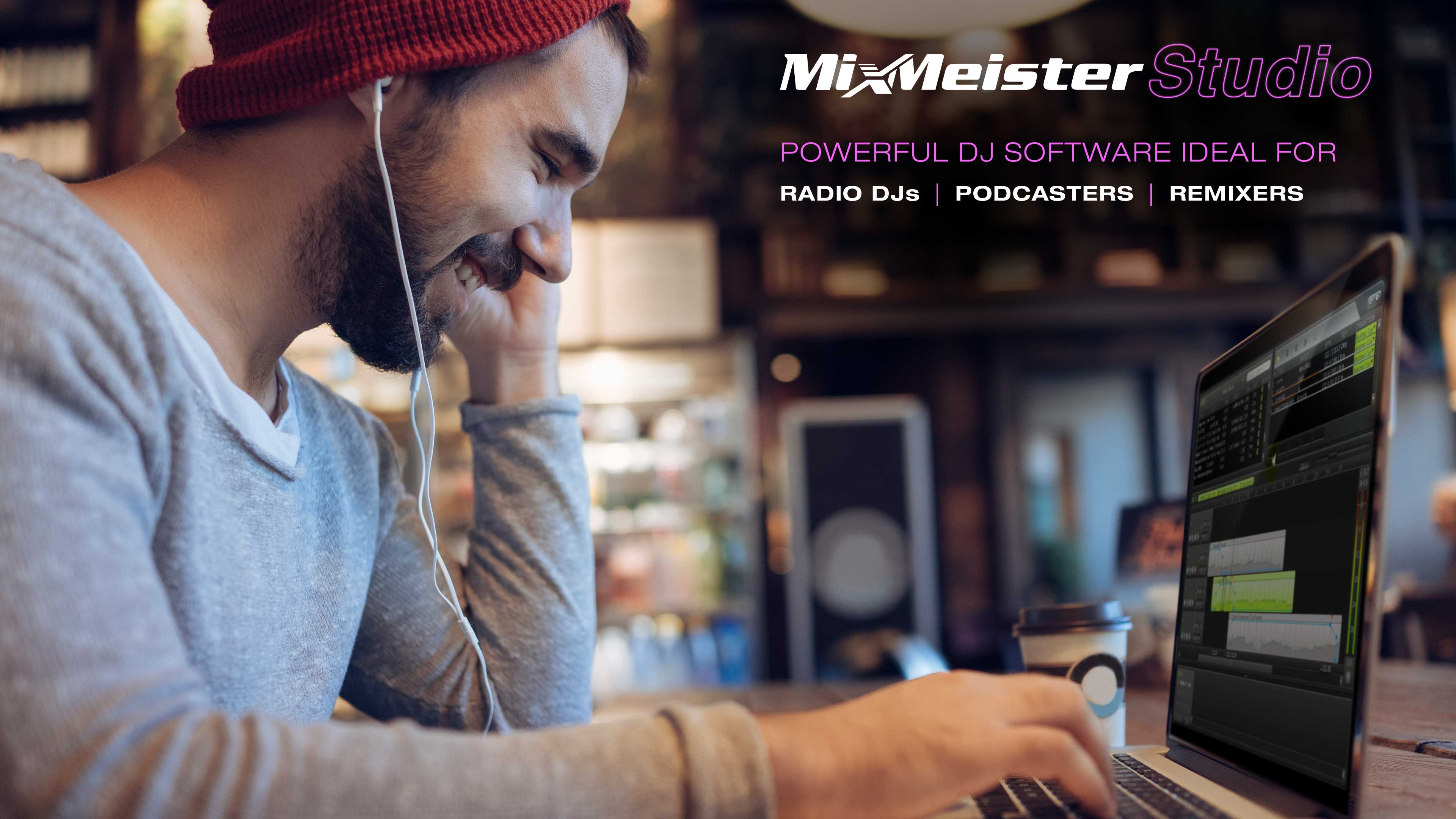 MixMeister Studio for Mac OS X full screenshot
